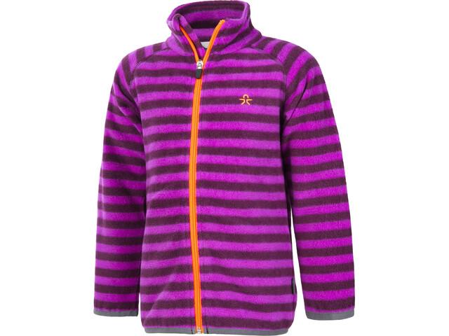 Color Kids Vilbur Mini Fleece Jacket Kinder dark purple